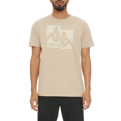 Authentic Rayo T-Shirt - Beige Sand White