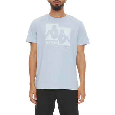Authentic Rayo T-Shirt - Baby Blue White