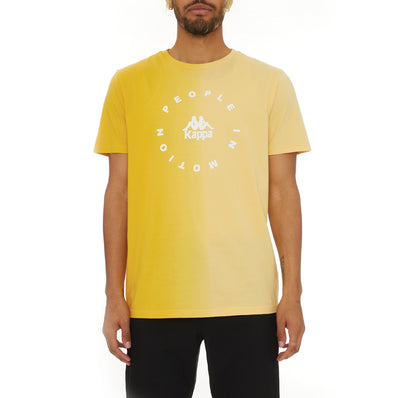 Authentic Dipte T-Shirt - Yellow White