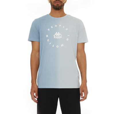 Authentic Dipte T-Shirt - Baby Blue White