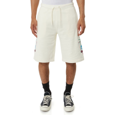 Authentic Falmouth Shorts - Cream