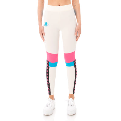 Kappa Authentic Football Beksi Leggings - Cream