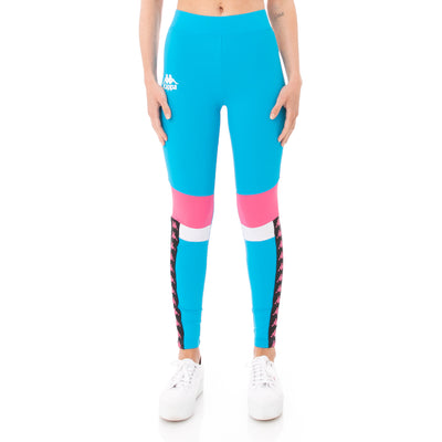 Kappa Authentic Football Beksi Leggings - Blue