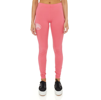 Authentic Pop Ezays Leggings - Fuchsia White
