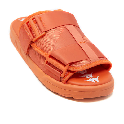 222 Banda Mitel 4 Sandals - Orange White