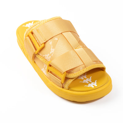 222 Banda Mitel 4 Sandals - Yellow White