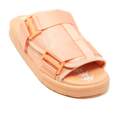 222 Banda Mitel 4 Sandals - Pink Blush White