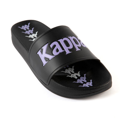 222 Banda Adam 17 Slides - Black Lilac White