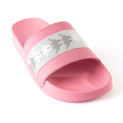 222 Banda Adam 15 Slides - Pink Grey