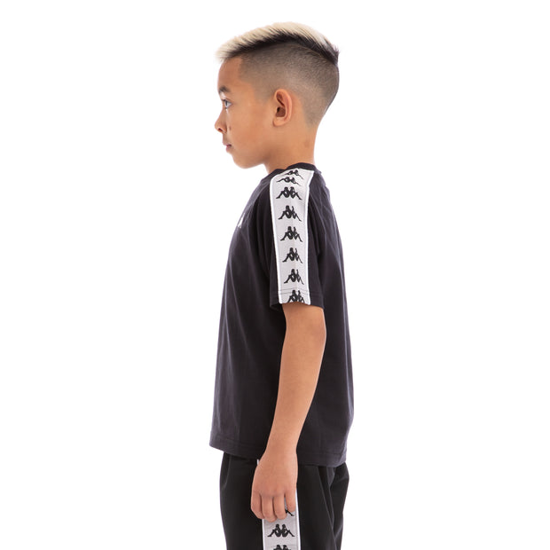 717a9d199b Kids 222 Banda Astoriazz Black Greysilver White Trackpants