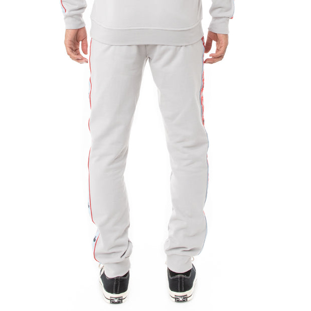 Kappa 222 Banda Alanz 3 Sweatpants - Grey Red Blue