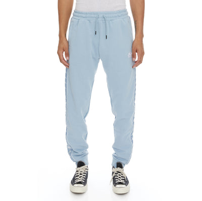 222 Banda Alanz 3 Sweatpants - Baby Blue White