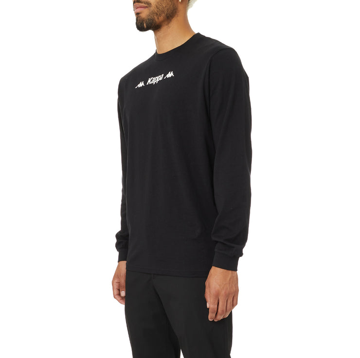 Authentic Sesia Long Sleeve T-Shirt - Black White
