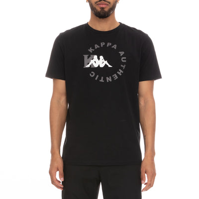 Authentic Savio T-Shirt - Black Grey White