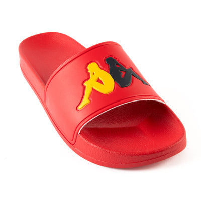 Authentic Adam 4 Slides - Red Yellow Blue