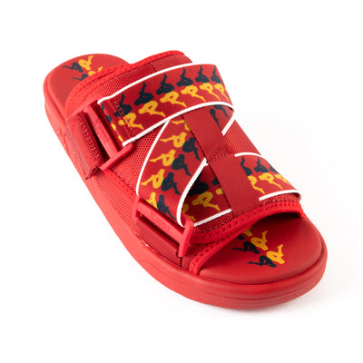 222 Banda Mitel 6 Sandals - Red Yellow Blue