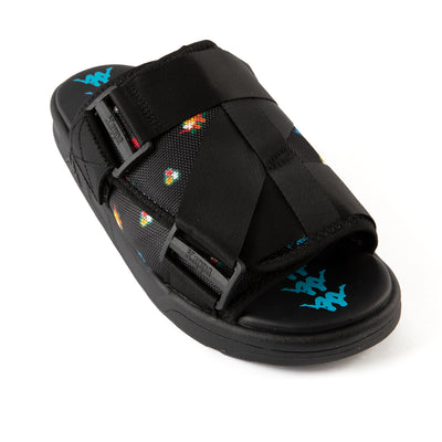 222 Banda Degana Sandals - Black