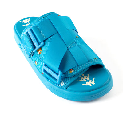 222 Banda Degana Sandals - Blue