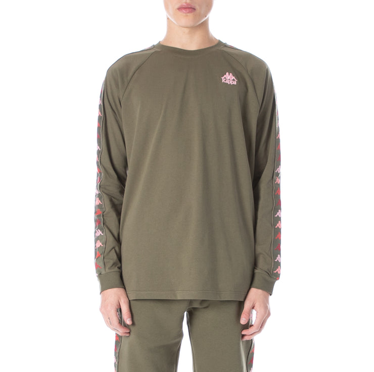 222 Banda Dicy Long Sleeve Tee Green Pink