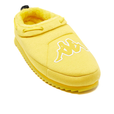 Logo Tasin Sneaker Mule - Yellow White
