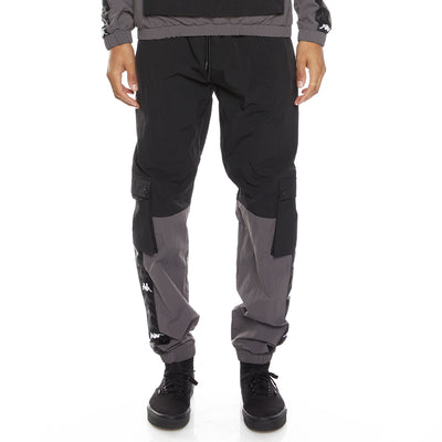 222 Banda Eristin Woven Pants - Black Grey White