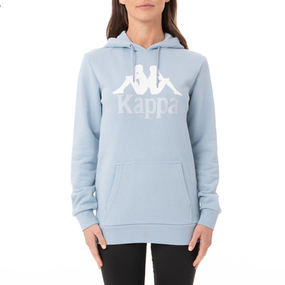 Authentic Calina Hoodie - Baby Blue White