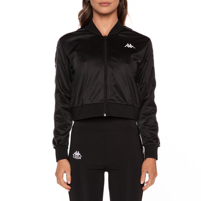 222 Banda Osbar Track Jacket - Black White