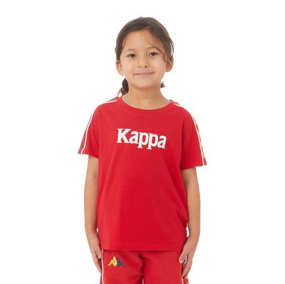 Kappa Kids Authentic Bendoc T-Shirt - Red