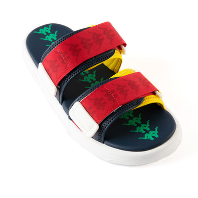 222 Banda Aster 5 Sandals - Blue Red Yellow