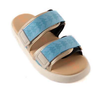222 Banda Aster 5 Sandals - Beige Azure Black