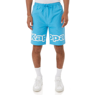 Kappa Logo Tape Colm Shorts - Blue