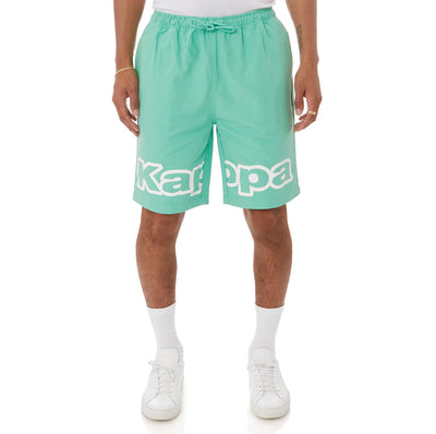 Kappa Logo Tape Colm Shorts - Green