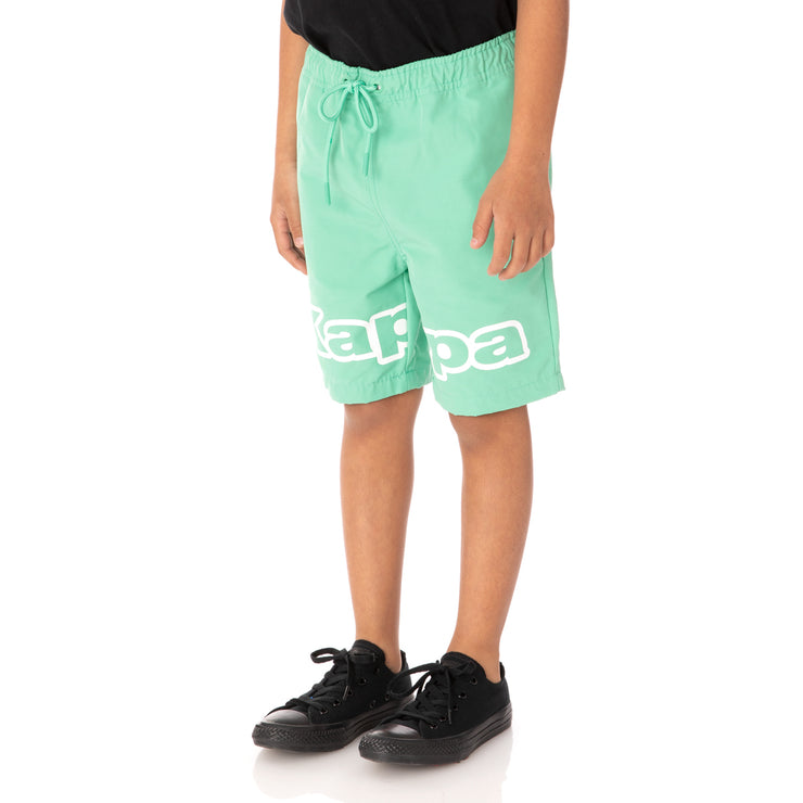 Kids Logo Tape Colm Shorts - Green