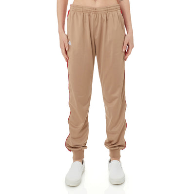 222 Banda Oahe Trackpants - Brown Red
