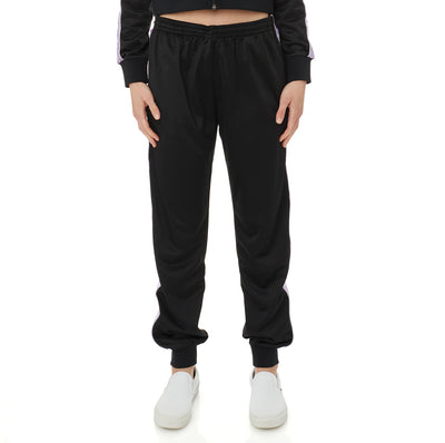 222 Banda Oahe Trackpants - Black Violet