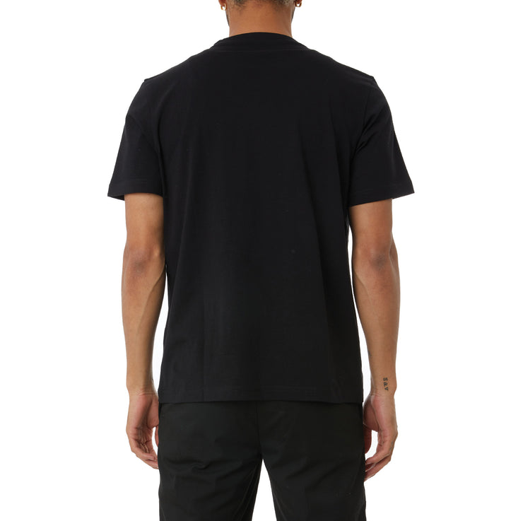 Logo Tape Bant T-Shirt - Black