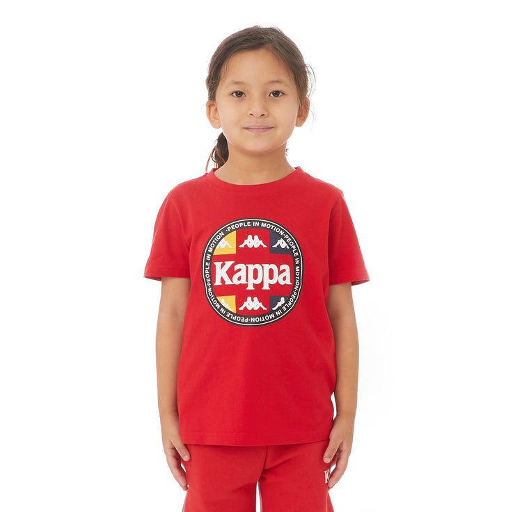 Kappa Kids Authentic Paddys T-Shirt - Red