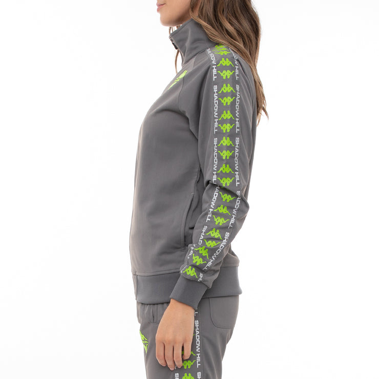 Authentic Smant Unisex Track Jacket - Grey