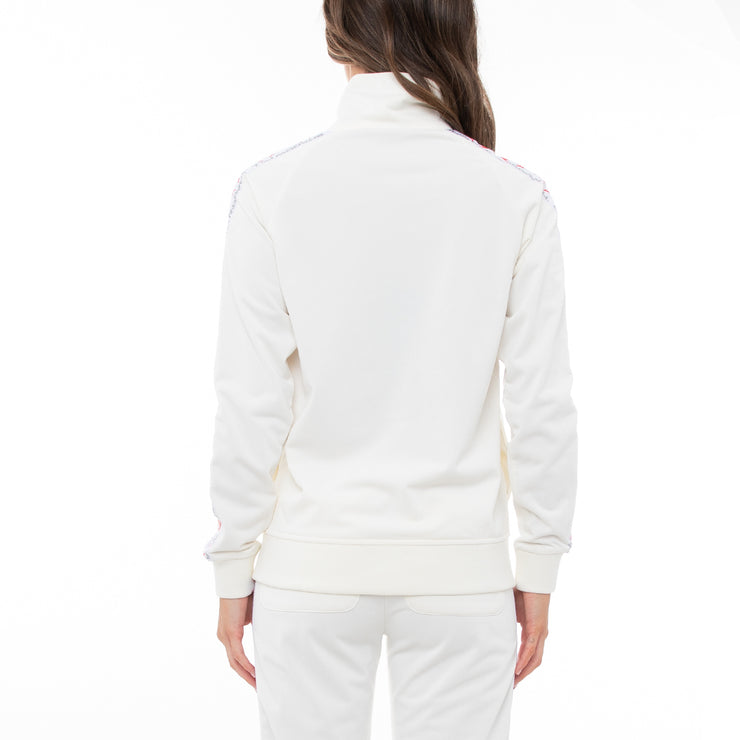 Authentic Smant Unisex Track Jacket - White
