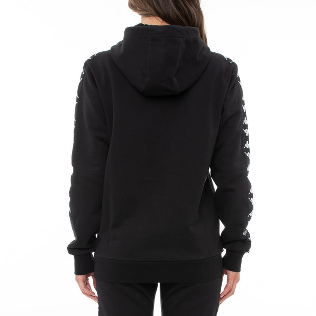 Authentic Shadow Strai Unisex Hoodie - Black
