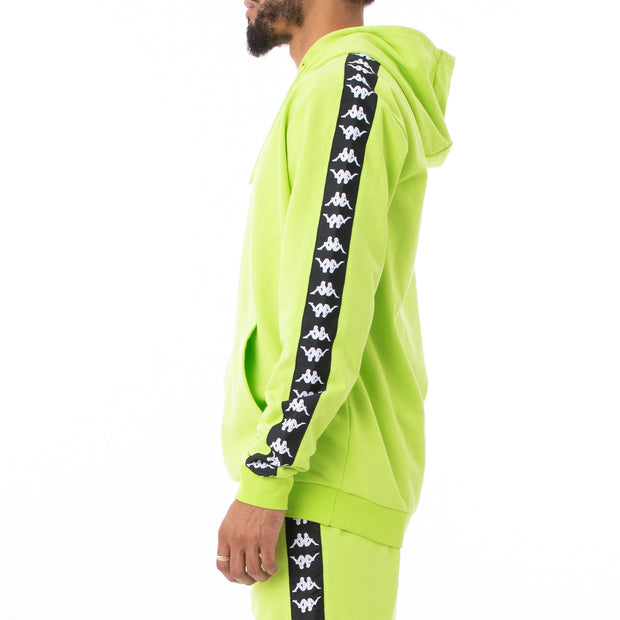 Authentic Shadow Strai Unisex Hoodie - Lime