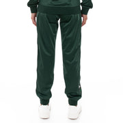 Kappa 222 Banda Wrastory Trackpants - Dark Green White