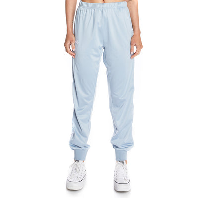 222 Banda Wrastory Trackpants - Baby Blue White