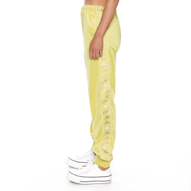 222 Banda Wrastory Trackpants - Yellow Lime