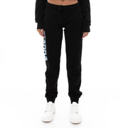 Kappa 222 Banda Breat Sweatpants - Black White