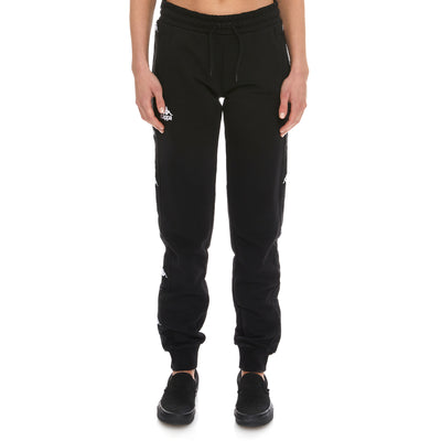 222 Banda Brily Sweatpants - Black White