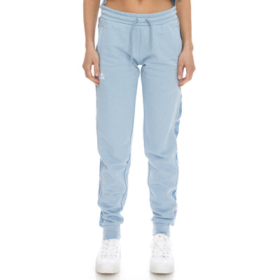 222 Banda Brily Sweatpants - Baby Blue White
