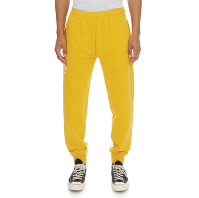 Authentic Pop Paldi Sweatpants - Yellow Dk White