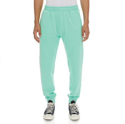 Authentic Pop Paldi Sweatpants - Green Spring White