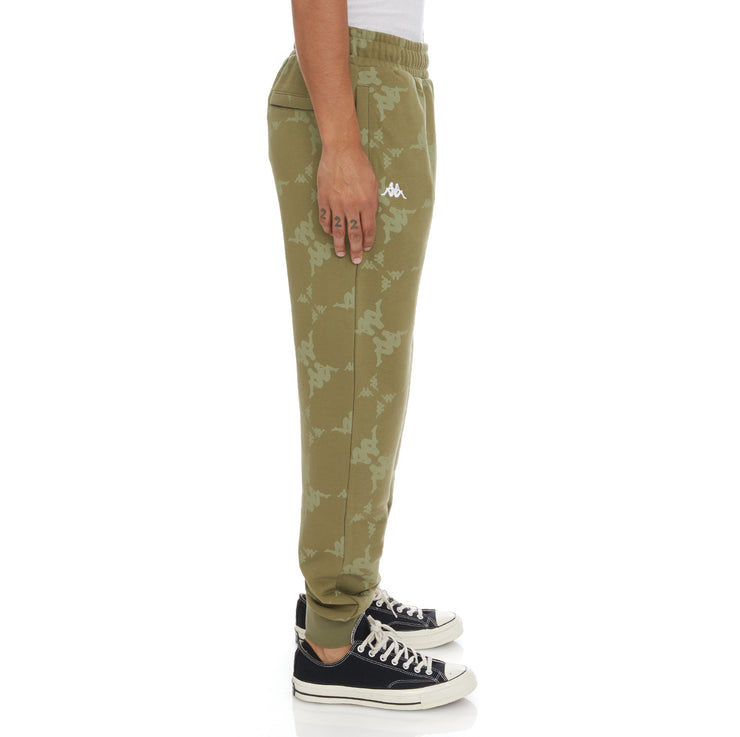 Authentic Eldera Sweatpants - Green White